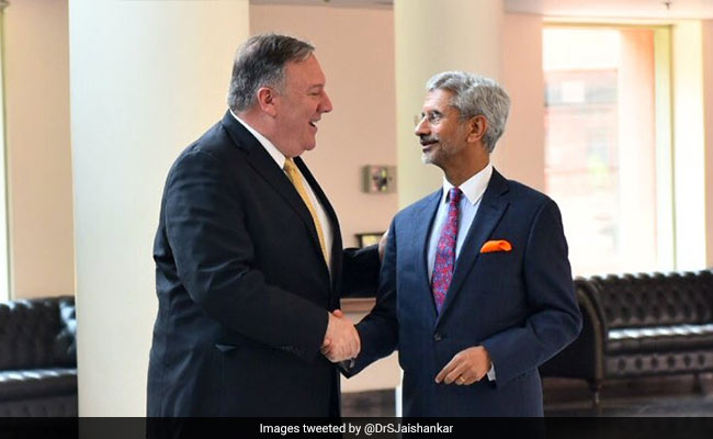 अमेरिकी विदेश मंत्री पोम्पिओ के साथ बैठक में एस-400 पर बोले एस जयशंकर- 'वही करेंगे जो देशहित में होगा'