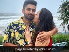 Karun Nair Gets Engaged To Long-Time Girlfriend