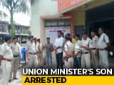 Video : Union Minister's Son Arrested In Attempt To Murder Case