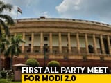 Video : Eye On Key Bills, PM Holds First All-Party Meet After Big Election Win