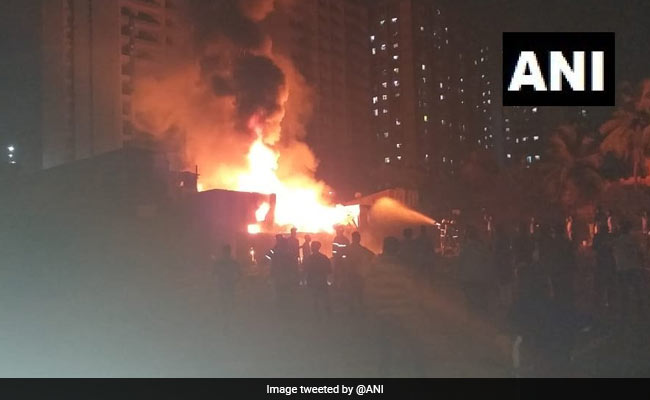 Fire Breaks Out At Shop In Mumbai's Jogeshwari Area