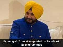 """Have Vacated Ministerial Bungalow,"" Says Navjot Singh Sidhu"