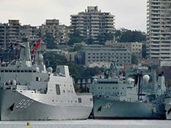 Chinese Warships Cause Surprise In Sydney Harbour
