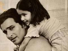 Viral: Little Sara Ali Khan Playing On Dad Saif's Set Reminds Fans Of Taimur And Inaaya