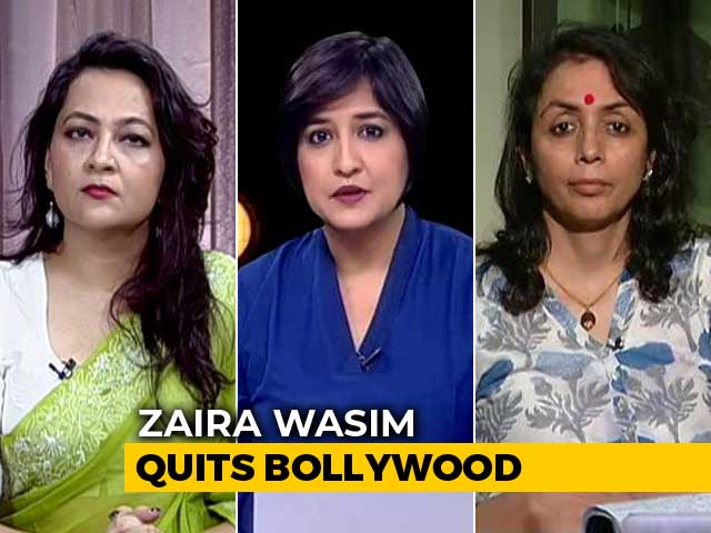 Video : <i>Dangal</i> Star Zaira Wasim Quits Bollywood