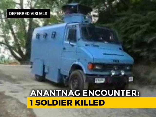 Video : Terrorist Who Arranged Vehicle For Pulwama Attack, His Handler Shot Dead