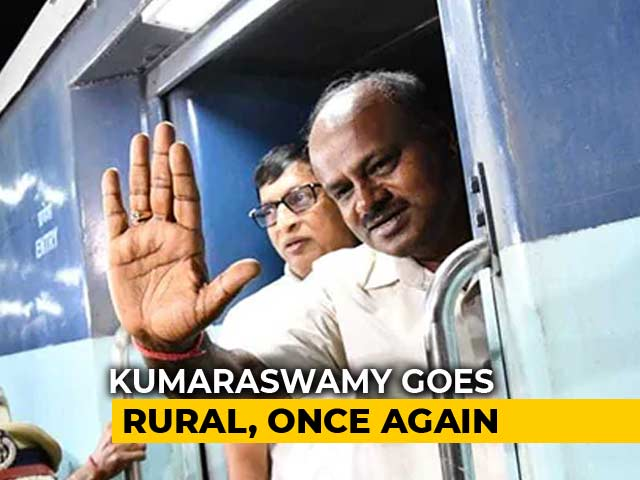 "Video : HD Kumaraswamy's Rural Outreach Begins With ""Village Stays"" Today"