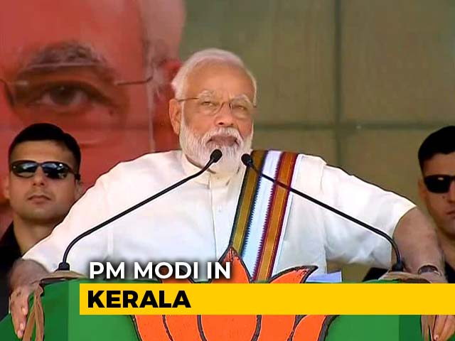 "Video : ""Many Are Wondering Why Is Modi In Kerala Despite BJP's Zero"": PM"