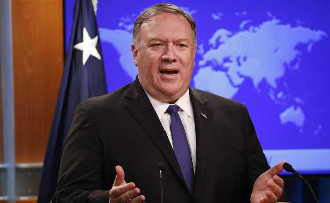 Mike Pompeo Meets Saudi King For Iran Crisis Talks