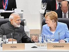 PM Modi Meets Angela Merkel, Discusses Ways To Deepen Indo-German Ties