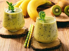Summer Drink: Beat The Heat With This Kiwi And Banana Mint Beverage