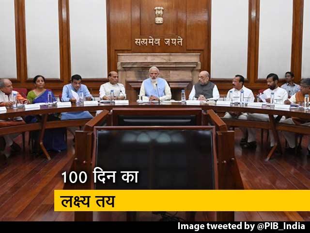 Videos : खबरों की खबर : मोदी सरकार की पहली कैबिनेट बैठक में 100 दिन का लक्ष्य तय