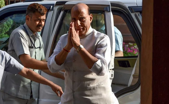 Rajnath Singh Informally Meets Ministers After Late Inclusion In Cabinet Panels