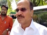 Video : After Rahul Gandhi's No, Congress Names Adhir Chowdhury Lok Sabha Chief