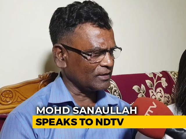 """Video : """"Truth Will Prevail"""": Ex-Soldier Declared """"Foreigner"""" Tells NDTV"""