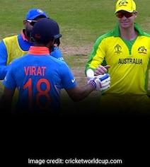Steve Smith Praises Virat Kohli's 'Lovely Gesture' During World Cup Clash