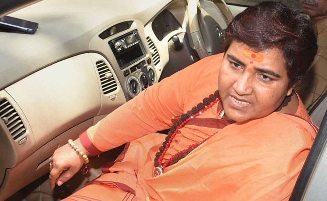 Pragya Thakur In Court After Skipping 2 Hearings, Sits On Red Satin Cloth