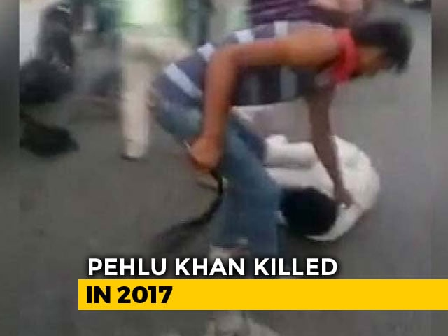Video : Mob Killing Victim Pehlu Khan Not Charged, Says Rajasthan Chief Minister