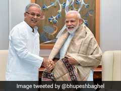 Chhattisgarh Chief Minister Bhupesh Baghel Meets PM Modi