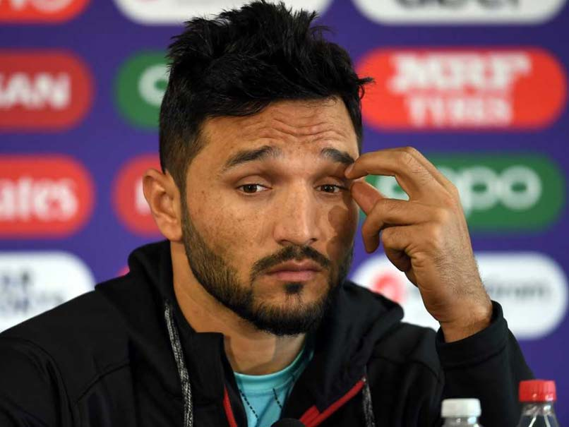 World Cup 2019: Afghanistan Captain Gulbadin Naib Threatens To Leave Press Conference - Watch