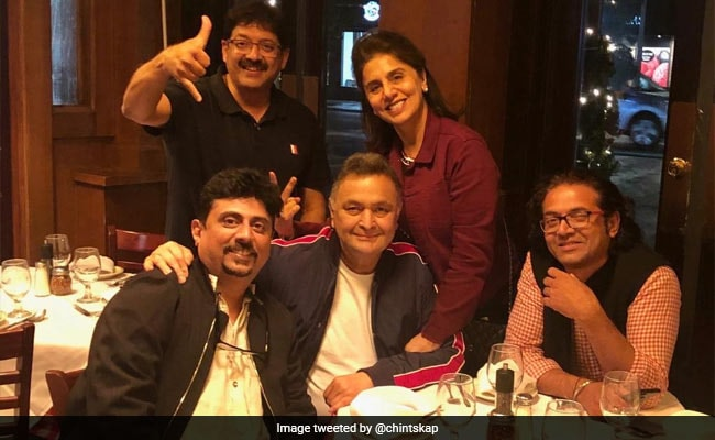 Rishi Kapoor Had A 102 Not Out Reunion In New York. See Pic