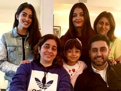 Aaradhya, Aishwarya, Navya: The Bachchans Light Up The Internet With Family Pic