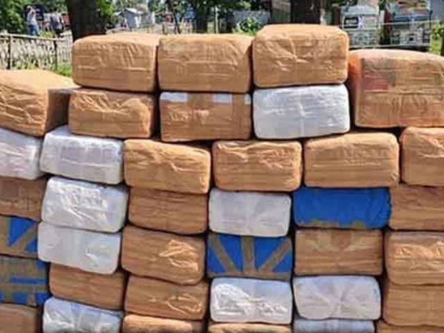 Video : அசாம் போலிஸிடம் பிடிபட்ட 590 கிலோ கஞ்சா!
