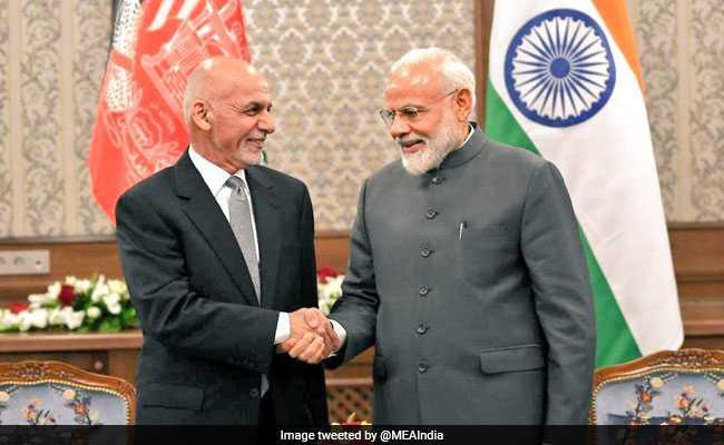 PM Modi Meets Afghanistan President Ashraf Ghani At SCO Summit