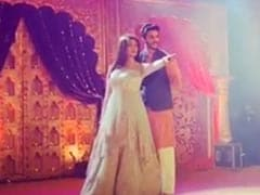 Sushmita Sen Brings Bollywood Dance Moves To Brother Rajeev Sen's <i>Sangeet</i> With Boyfriend Rohman Shawl