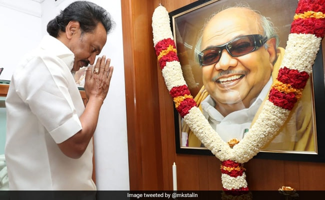 'Kalaignar Lives On': MK Stalin's 'Save Tamil' Note Amid Anti-Hindi Stir