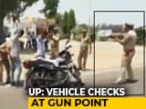 "Video : On Video, UP Cops Check Locals At Gunpoint, Call It ""Tactical Technique"""