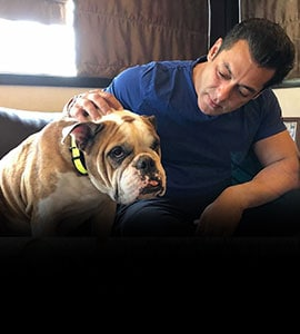 Salman Is Busy 'Spending Time' With His Most 'Loving And Selfless' Friend
