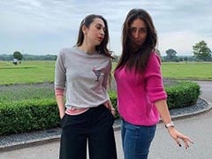 Karisma Kapoor Celebrates Her 45th Birthday In Style With Sister Kareena In London
