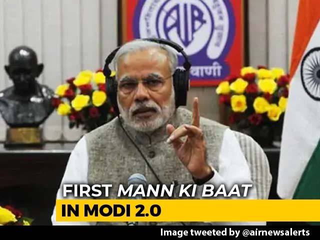 "Video : ""Many People Told Me They Missed Mann Ki Baat"", Says PM Modi"
