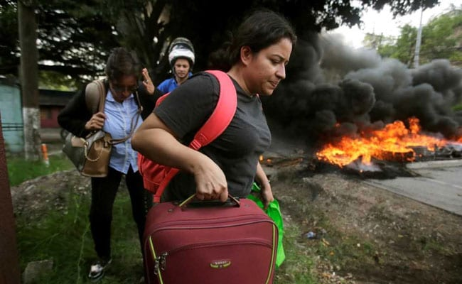 Masked Group Targets US Embassy With Arson Attack In Honduras