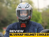 Video : BluSnap Helmet Cooler Review