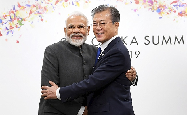 PM Modi Meets South Korea President, Discusses Ways To Enhance Trade Ties