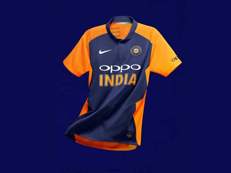 "India To Sport Orange And Blue ""Away"" Jersey Against England"
