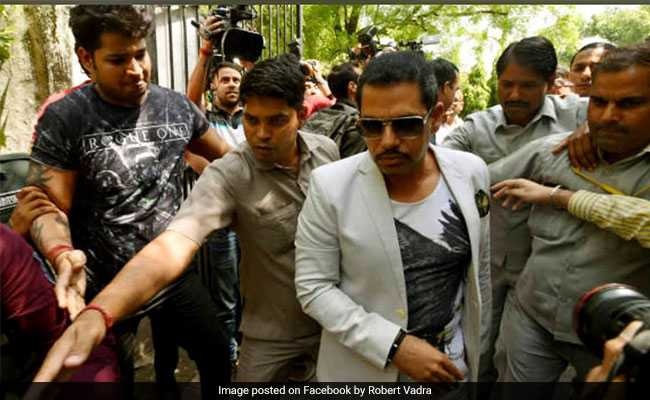 Robert Vadra Given 4 Weeks To File Rejoinder In Money Laundering Case
