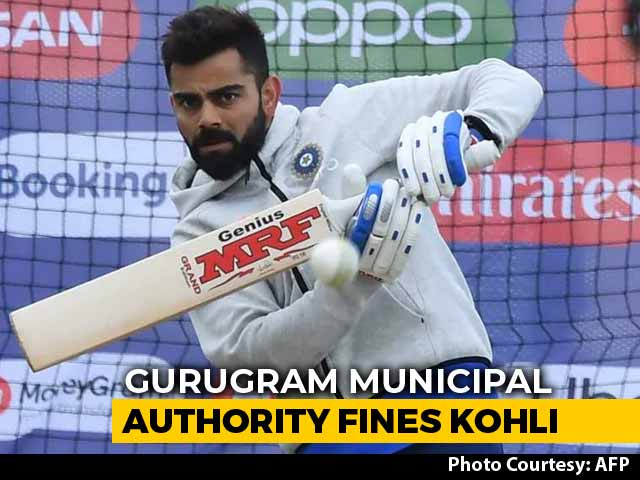 Video : Virat Kohli Fined Rs. 500 For Washing His Car With Drinking Water