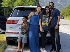 In Which Kajol, Ajay Devgn, Nysa And Yug Go On A Road Trip. See Pic