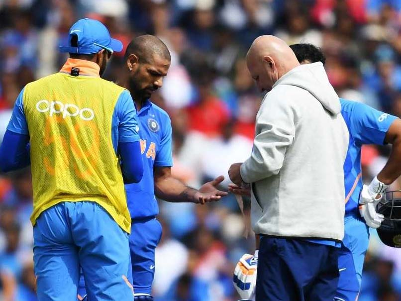 India opener Shikhar Dhawan ruled out of World Cup