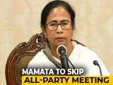 Video : Mamata Banerjee To Skip PM Modi-Led Meeting Of Party Chiefs Tomorrow