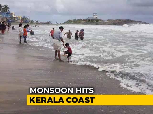 Video : Monsoon Hits Kerala Coast After A Week's Delay