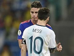 "Copa America: Lionel Messi ""Bitter"" As Colombia Stun Argentina"
