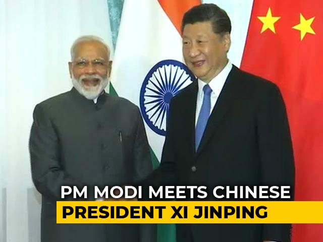 Video : Pakistan Must Stop Terror Before Talks, PM Modi Tells China's Xi Jinping