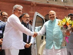 BJP President Amit Shah Takes Charge As Home Minister
