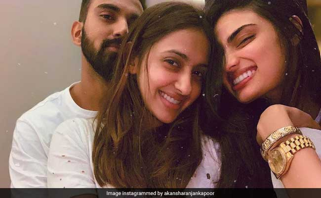 Athiya Shetty is rumored to be dating Indian cricketer KL Rahul