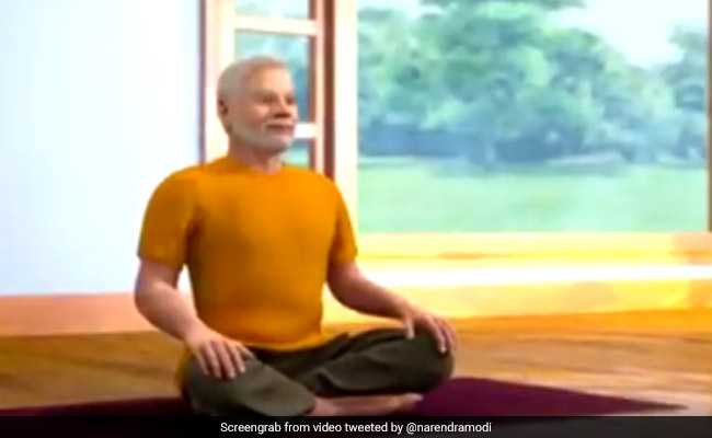 'Meditation Integral To Yoga': PM Tweets New Videos Day Before Yoga Day