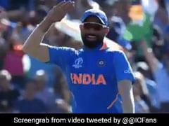 WI vs IND: मोहम्मद शमी ने शेल्डन काटरेल के आउट होने के बाद यूं दिया